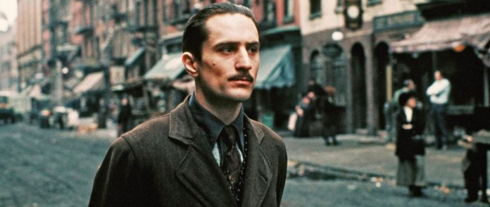 Robert De Niro digitally de-aged