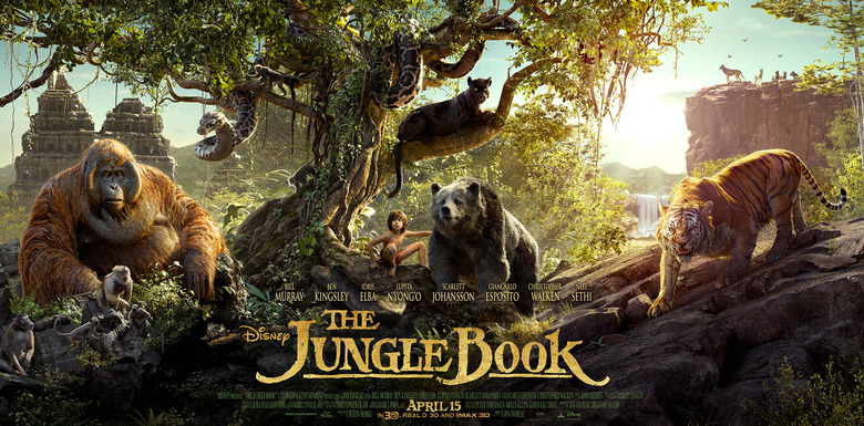 The Jungle Book poster tryptic