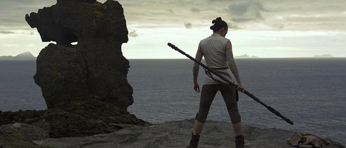 The Last Jedi final scene