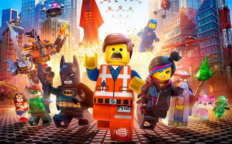 The Lego Movie poster header