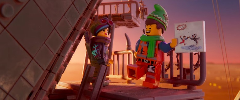 the lego movie 2 holiday short