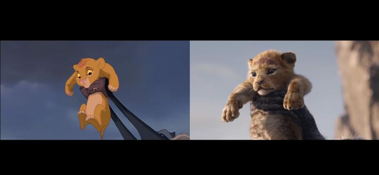 The Lion King Trailer Comparison