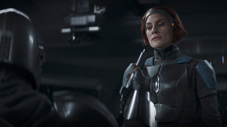 The Mandalorian Star Katee Sackhoff Teases Season 3 s  Unfinished Business  [Exclusive]