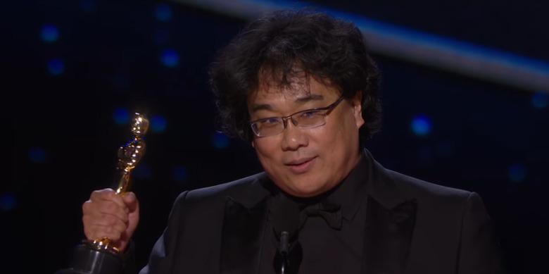 2020 Oscars Video Highlights - Bong Joon-ho