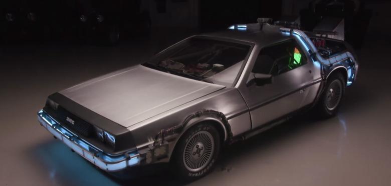 Back to the Future - Jay Leno's Garage - Dog Recreates The Office