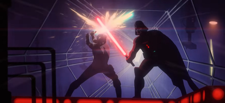 Animated Empire Strikes Back