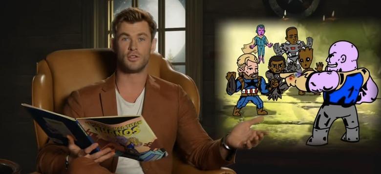 Avengers Infinity War Children's Book