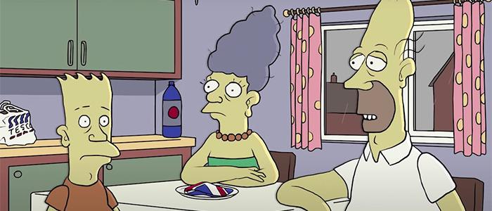 British Version of The Simpsons