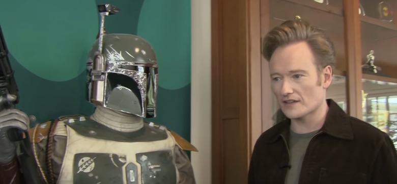 Conan Visits Lucasfilm