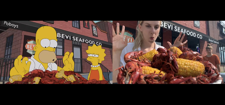 The Simpsons New Orleans Food Tour