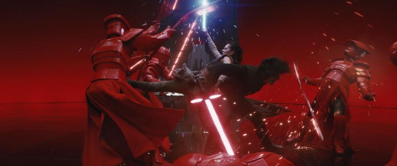 The Last Jedi Lightsaber Fight Breakdown