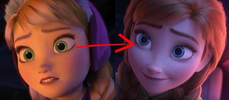 Frozen Animation Evolution