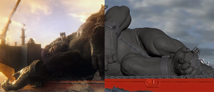 Godzilla vs. Kong VFX