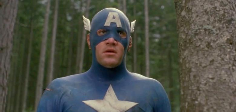 Captain America - 1990s - History of Marvel Movies