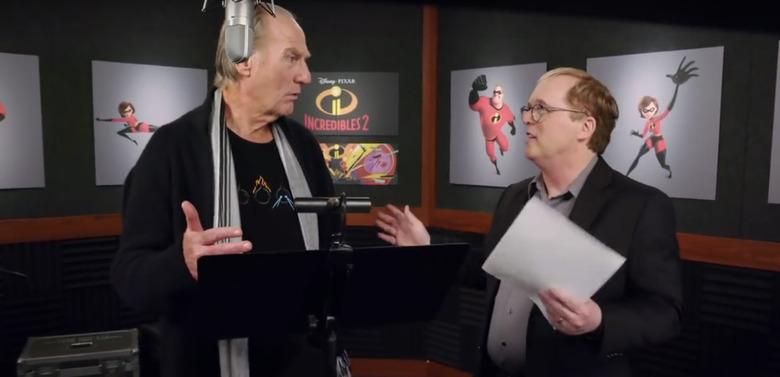 Incredibles 2 Voice Recording