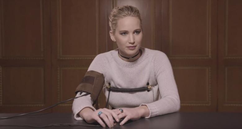 Jennifer Lawrence Lie Detector Test