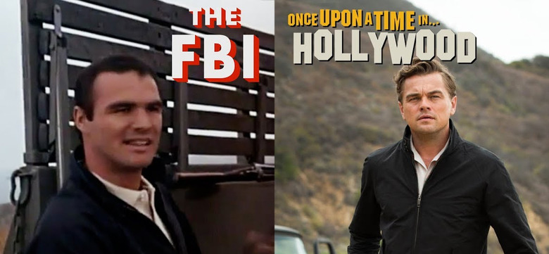 Once Upon a Time in Hollywood Scene Comparison
