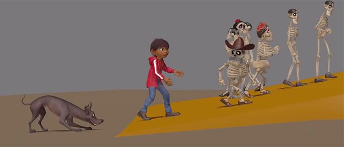 Coco Animation Progression