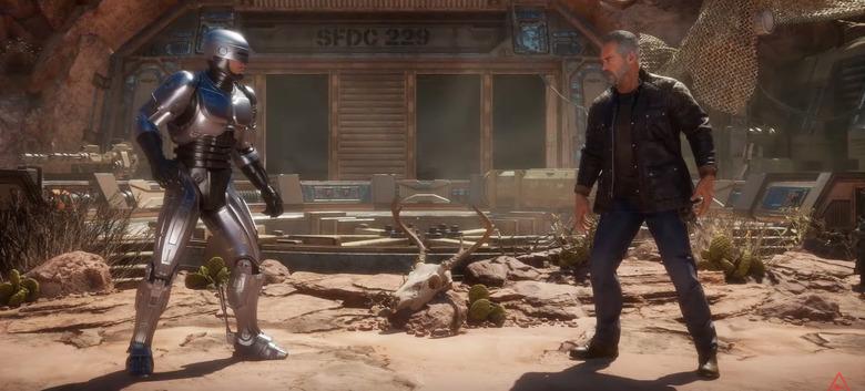 RoboCop vs Terminator in Mortal Kombat 11