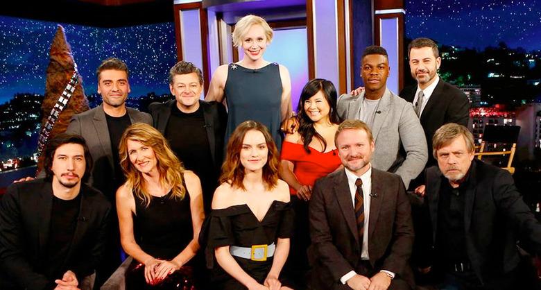 Star Wars: The Last Jedi Cast on Jimmy Kimmel Live