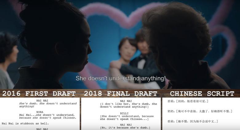 The Farewell Script Breakdown