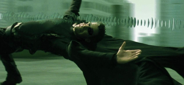 The Matrix - Slow Motion in Movies
