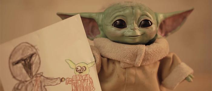 The Mandalorian Raising Baby Yoda Short Film