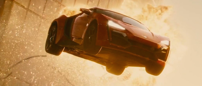 Physics of Fast and Furious Stunts