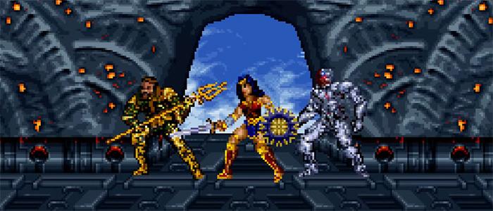 Zack Snyder's Justice League 16-Bit Trailer