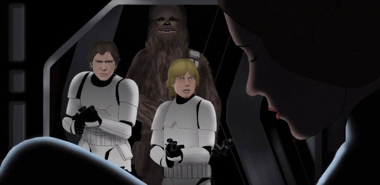Star Wars Animated Movie