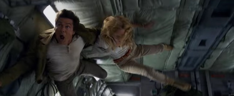 The Mummy airplane sequence