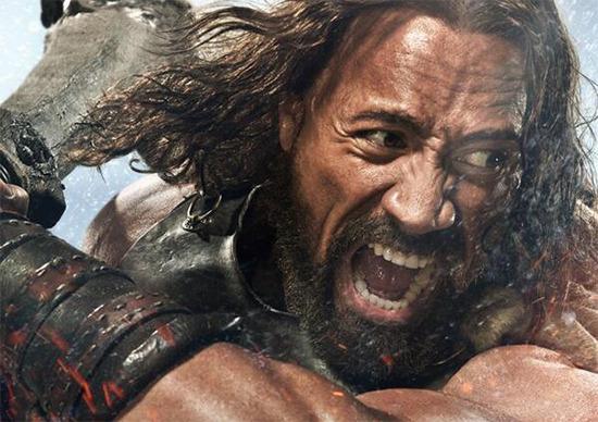 Rock as Hercules