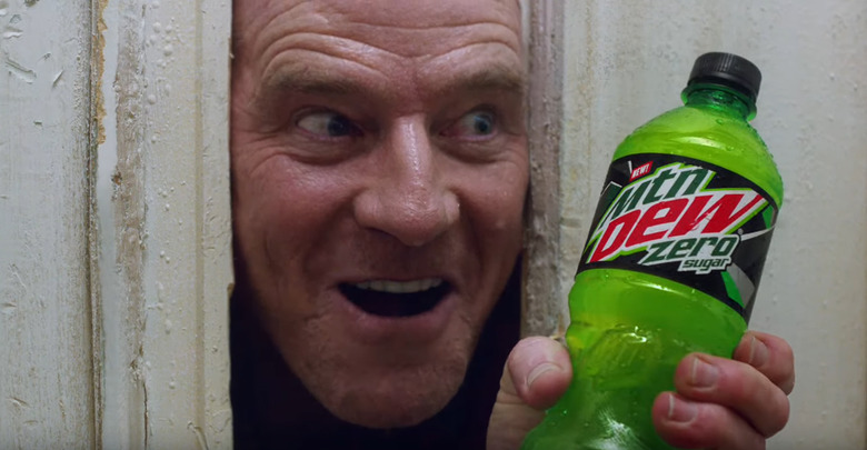 The Shining Mountain Dew Super Bowl Commercial