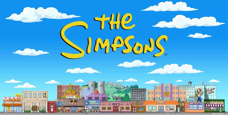 The Simpsons Expansion at Universal Studios Hollywood