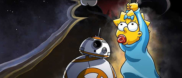 The Simpsons Star Wars Animated Short