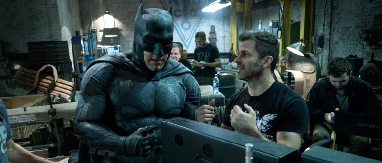 The Snyder Cut of Justice League Not Finished