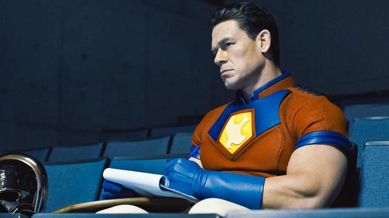 John Cena as Peacemaker in The Suicide Squad