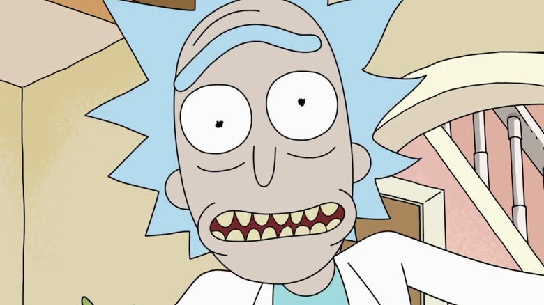 The Surprising Origins Behind Rick And Morty s Catchphrase