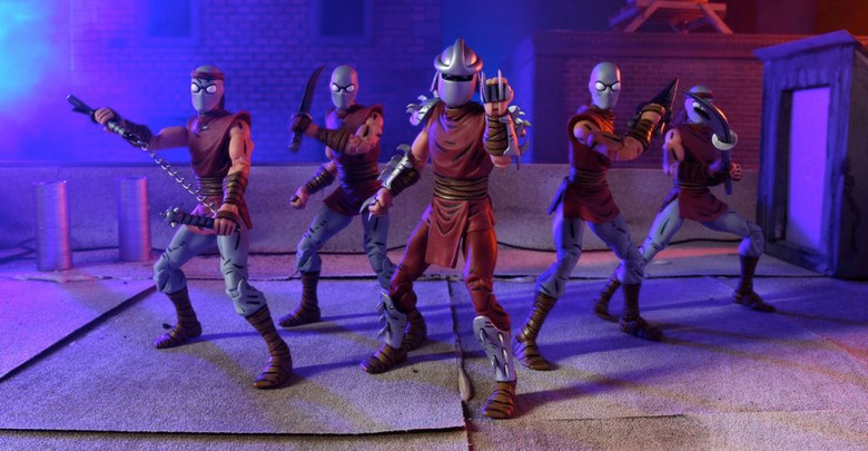 Teenage Mutant Ninja Turtles - Shredder and Foot Clan Action Figures