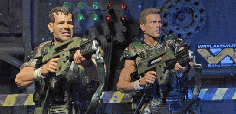 Aliens - Hicks and Hudson Action Figures