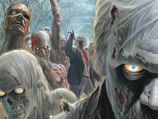 Alex Ross - Walking Dead header