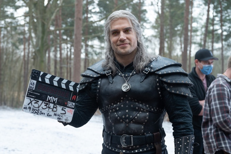 the witcher season 2 filming