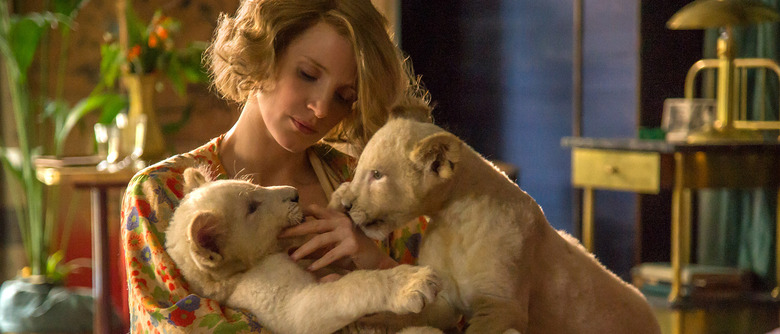 The Zookeeper's Wife trailer - Jessica Chastain