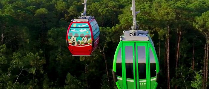 Theme Park Bits Disney Skyliner