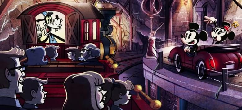 Mickey and Minnie's Runaway Railway Video