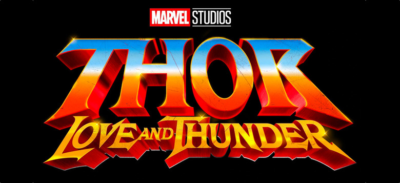 thor love and thunder update