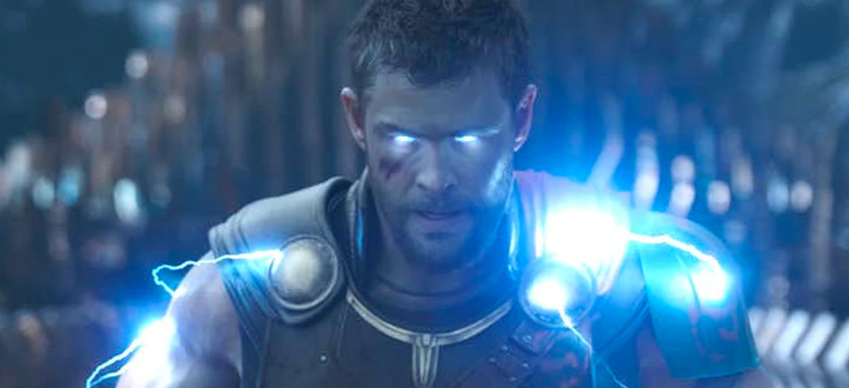 thor love and thunder filming