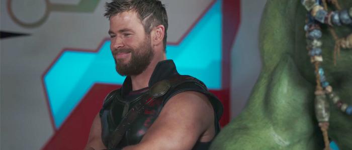 Thor Ragnarok is 80 percent improvised