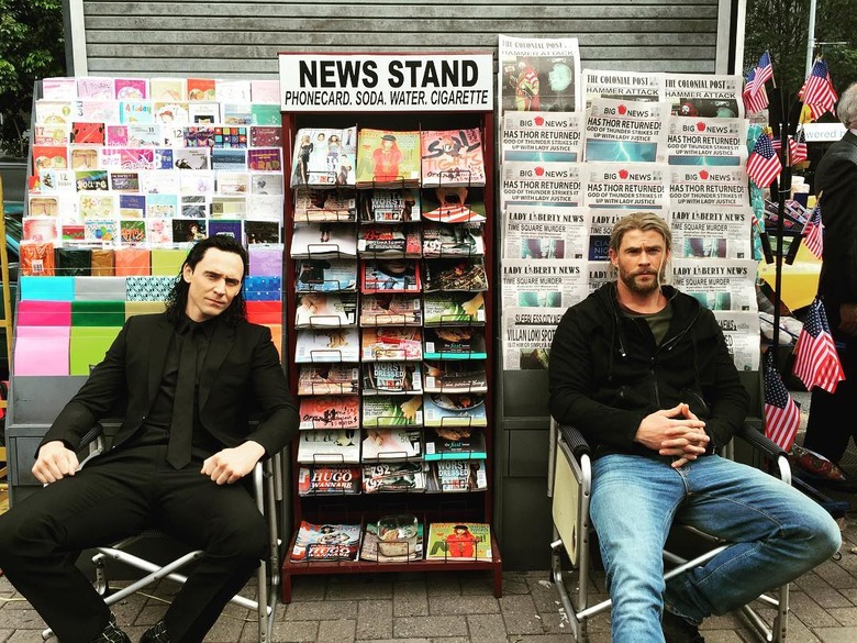 Thor Ragnarok - Thor and Loki