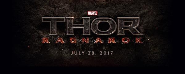 Thor 3 Ragnarok Logo official